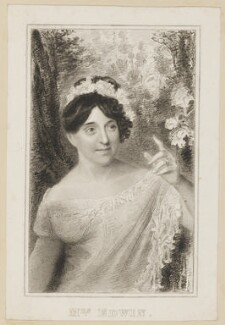Elizabeth Rebecca Edwin (née Richards) as Letitia Hardy in Cowley's 'The Belle's Stratagem', published by Simpkin and Marshall - NPG D38672