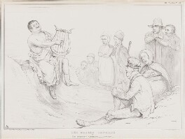 The Modern Orpheus, by John ('HB') Doyle, printed by  Ducôte & Stephens, published by  Thomas McLean - NPG D41335