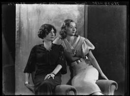 Lady Isobel Blunt-Mackenzie (later Lady Isobel Linda); Sibel Lilian Mackenzie, Countess of Cromartie, by Bassano Ltd - NPG x105026