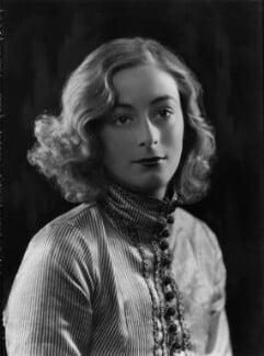 Lady Isobel Blunt-Mackenzie (later Lady Isobel Linda), by Bassano Ltd - NPG x105059
