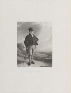 Thomas Bewick, by Frederick Bacon, after  James Ramsay - NPG D42310