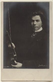 Jan Kubelik, by Unknown photographer - NPG x135852