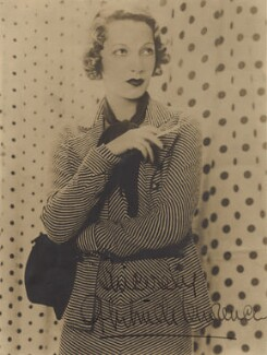 Gertrude Lawrence, by Paul Tanqueray, 1932 - NPG x135854 - © estate of Paul Tanqueray