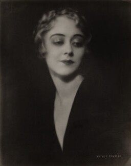 Unknown woman, by Arthur Ermates, printed by  S. Georges - NPG x135859