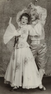 Tilly Losch with dancer, by Fayer - NPG x135860
