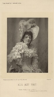 May Yohé, by Alfred Ellis, published by  Eglington & Co, published January 1894 - NPG x135883 - © National Portrait Gallery, London