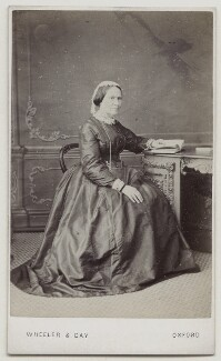 Agnes Strickland, by Wheeler & Day - NPG x135947