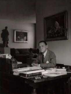 Somerset Maugham, by Tom Blau, for  Camera Press: London: UK - NPG x135967