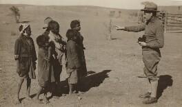 E.O. Hoppé with Aborigines of Central Australia, probably by Frank Sidney Hoppé - NPG x135968