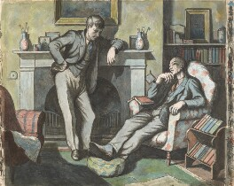 Eric Ravilious; Edward Bawden, by Michael Rothenstein - NPG 6938