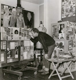 Peter Blake, by Unknown photographer - NPG x135973