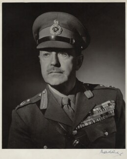 Harold Rupert Leofric George Alexander, 1st Earl Alexander of Tunis, by Frederick Maillard, 1946 - NPG x135978 - © reserved; collection National Portrait Gallery, London