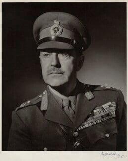 Harold Rupert Leofric George Alexander, 1st Earl Alexander of Tunis, by Frederick Maillard - NPG x135978