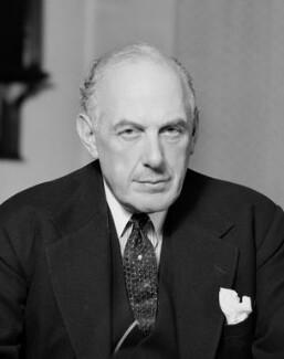 Oliver Lyttelton, 1st Viscount Chandos, by Bassano Ltd - NPG x157764
