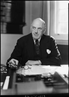 Oliver Lyttelton, 1st Viscount Chandos, by Bassano Ltd - NPG x157765