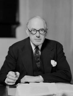 Oliver Lyttelton, 1st Viscount Chandos, by Bassano Ltd - NPG x157766