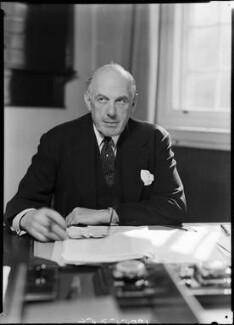 Oliver Lyttelton, 1st Viscount Chandos, by Bassano Ltd - NPG x157767