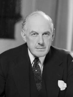 Oliver Lyttelton, 1st Viscount Chandos, by Bassano Ltd - NPG x157768