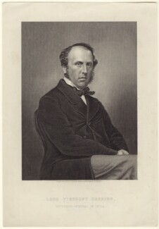 Charles John Canning, Earl Canning, by Daniel John Pound, after  John Jabez Edwin Mayall, circa 1856-1859 (1855) - NPG D42313 - © National Portrait Gallery, London