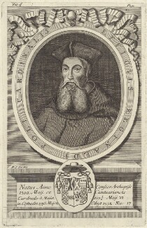 Reginald Pole, by Philip Simms, after  Robert White - NPG D42317