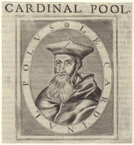 Reginald Pole, possibly by Jacob Gole - NPG D42318