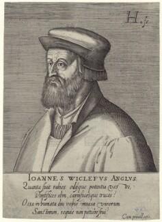 Fictitious portrait called John Wyclif, by Hendrik Hondius (Hond) - NPG D42320