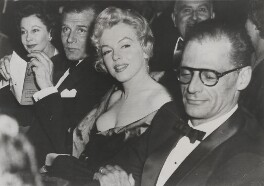Vivien Leigh; Laurence Olivier; Marilyn Monroe; Arthur Asher Miller, by Unknown photographer, for  Associated Press - NPG x135981