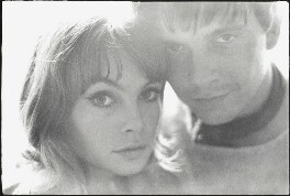 David Bailey; Jean Shrimpton, by Peter Rand - NPG x136000