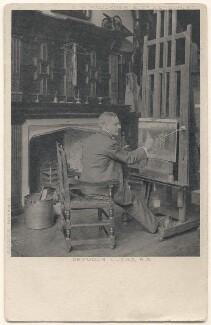 John Seymour Lucas, by Richard Williams Thomas, published by  Charles William Faulkner & Co ('C.W.F. & Co') - NPG x136027