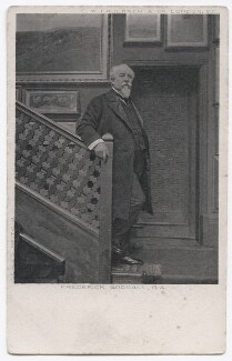 Frederick Goodall, by Richard Williams Thomas, published by  Charles William Faulkner & Co ('C.W.F. & Co') - NPG x136031