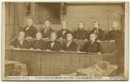 'The Gentlemen of the Tichborne Jury', by London Stereoscopic & Photographic Company - NPG x135898