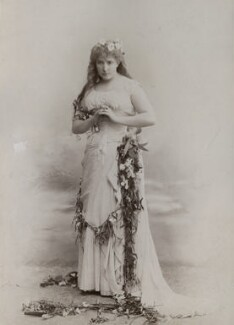 Nellie Melba as Ophelia in 'Hamlet', by Charles Reutlinger - NPG x135900