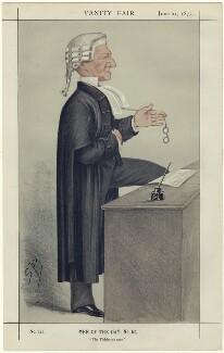 Henry Hawkins, Baron Brampton, by Sir Leslie Ward, published 21 June 1873 - NPG D42328 - © National Portrait Gallery, London