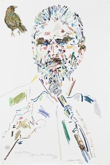 Gerry Adams, by Conrad Atkinson, 2008 - NPG 6953 - © Conrad Atkinson / National Portrait Gallery, London