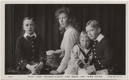 The children of King George V, by Lafayette, published by  Rotary Photographic Co Ltd - NPG x136049