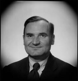 Robert Yewdall Jennings, by Antony Barrington Brown - NPG x105204