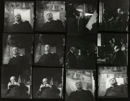 Winston Churchill; Kathleen Frances ('Katharine') Sutherland (née Barry); Graham Sutherland, by Elsbeth R. Juda - NPG x136052