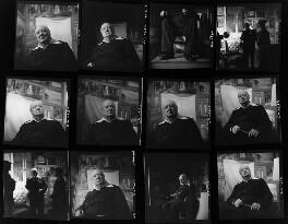 Winston Churchill; Kathleen Frances ('Katharine') Sutherland (née Barry); Graham Sutherland, by Elsbeth R. Juda - NPG x136055