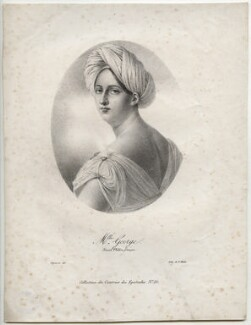 Mademoiselle Georges (Marguerite-Josephine Weimer), printed by Charles Etienne Pierre Motte, by  Pierre Roch Vigneron - NPG D42331