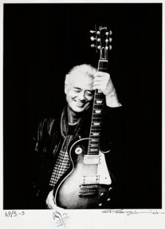 Jimmy Page, by Ross Halfin - NPG x135919