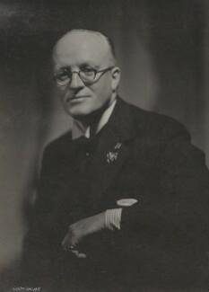 Sir Hugh Walpole, by Howard Coster - NPG Ax136060
