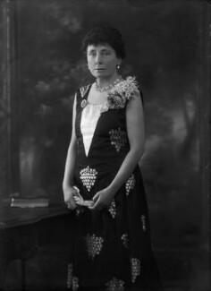 Constance Jane (née Knight), Lady Boyle, by Bassano Ltd - NPG x105259
