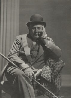 James Evershed Agate, by Howard Coster, circa 1934 - NPG Ax136098 - © National Portrait Gallery, London