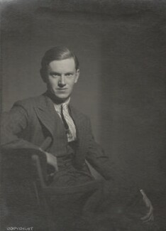 Evelyn Waugh, by Howard Coster - NPG Ax136101