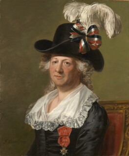 Chevalier d'Eon, by Thomas Stewart, after  Jean Laurent Mosnier - NPG 6937