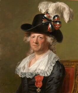 Chevalier d'Eon, by Thomas Stewart, after  Jean Laurent Mosnier, 1792 - NPG 6937 - © National Portrait Gallery, London