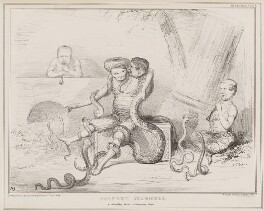 Serpent Charmers, by John ('HB') Doyle, printed by  Alfred Ducôte, published by  Thomas McLean - NPG D41373