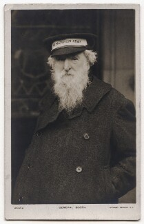 William Booth, published by Rotary Photographic Co Ltd - NPG x136246
