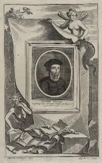 John Wyclif, by Gaspar Bouttats, after  Hendrik-Frans Verbruggen - NPG D42323