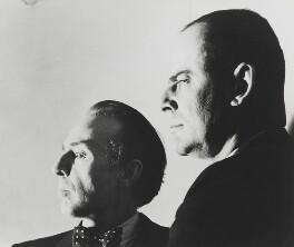 George Balanchine; Lincoln Edward Kirstein, by Norman Parkinson - NPG x136247